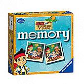 Memory Game - Jake And The Never Land Pirates Mini Memory Card Game - Ravensburger