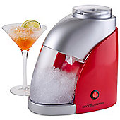 Andrew James Electric Ice Crusher in Red