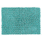 Tesco Chenille Bath Mat Kingfisher Green