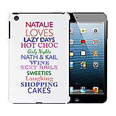 Personalised Top Ten Loves iPad Mini Case