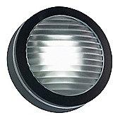 Endon Lighting Circle Outdoor Flush Light in Black