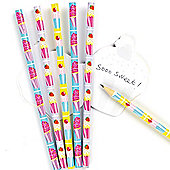 Party Bag Scented Cool Cupcakes Pencils(Pack of 6)