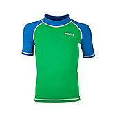 Rash Kids Swim Summer Beach High UV Protection Quick Drying Vests - Green