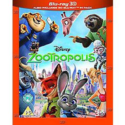 Zootropolis Blu-ray 3D + Blu-ray