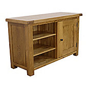 Rustic Solid Oak - Standard Oak TV Unit / Oak TV Stand
