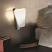 De Majo Bell Two Light Wall Lamp in Stained White