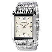Accurist Mens Stainless Steel Mesh Watch - MB903I