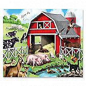 Melissa & Doug Farm Friends Kids Floor Puzzle (24 Pieces)