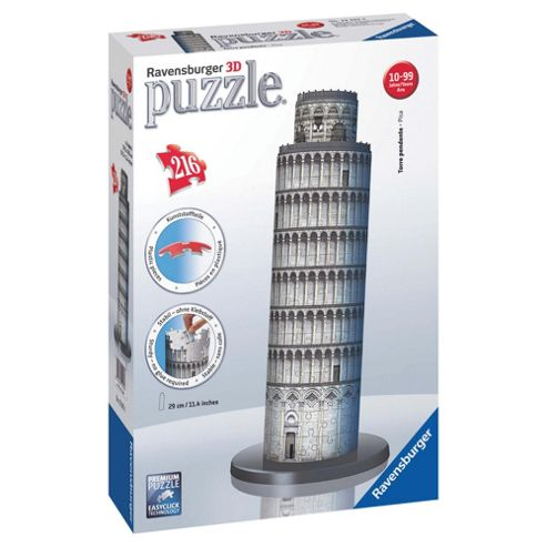 Ravensburger Tower of Piza 216pc 3D Puzzle