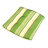 Green Stripe Carlo/Classic Cushion - 48 x 44 x 4cm