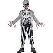 Ghost Ship Pirate Boy - Child Costume 10-12 years