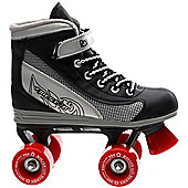 Roller Derby Roller Derby Firestar Boys/Girls Quad Roller Skates Velcro Strap - JNR11 - UK3 - Black