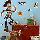 Disney Toy Story Woody Giant Wall Sticker