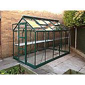 Rhino Harvest Greenhouse – 6x10 - Bay Tree Green Finish