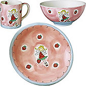 Children's Dinner Set - Strawberry Fairy