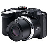 "Kodak AZ251 Digital Bridge Camera, Black, 16.3MP, 25x Optical Zoom, 3"" LCD Screen"