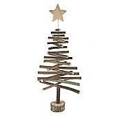 Woodland Table Top Christmas Tree