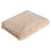 Tesco 100% Combed Cotton Hand Towel Taupe