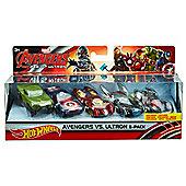 Hot Wheels Avengers Character Car (Pack of 5)