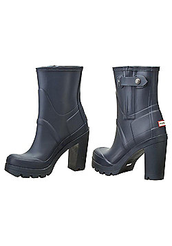 Hunter  High Heel Boots - Navy - Adult Size 4
