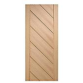 LPD Doors Monza Oak Interior Fire Door - 198.1 cm H x 76.2 cm W x 4.4 cm D