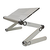 Laptop Notebook Posture Stand - Harley Street Approved in White