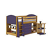 Verona Mid Sleeper Set 1 Antique With Lilac Details
