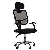 Scafi Black Office Chair
