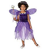 Child Plum Pixie Costume Large