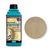 Polyvine Wax Finish Varnish - Antique Pine - 1 Litre