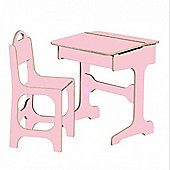 Saplings Desk & Chair (Candy Floss)
