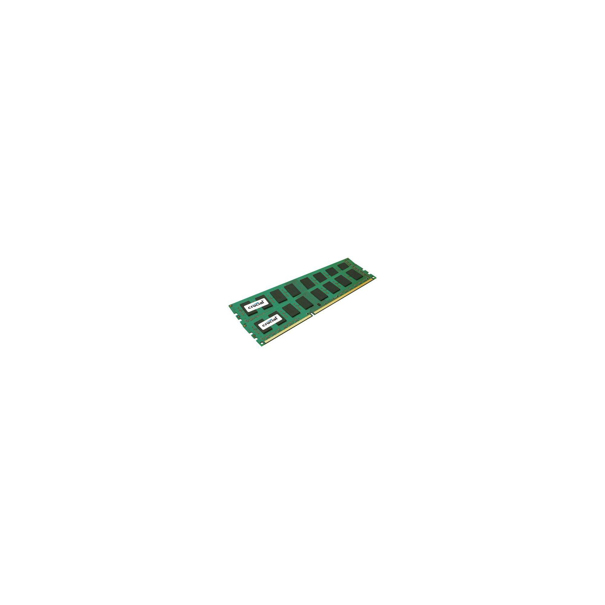 Crucial 4GB Memory Kit (2x2GB) PC3-10600 1333MHz DDR3 Unbuffered Non