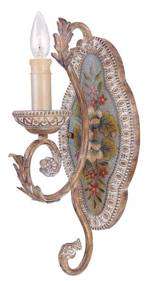 Savoy House Cerulean One Light Sconce in Cottonwood