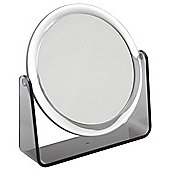 Famego 5x Magnification Stand Mirror in Smoke