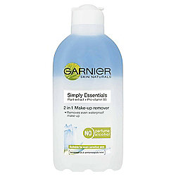 Garnier Simply Essential 2 in 1 make up remover
