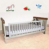 Safetots Wooden Bed Rail White