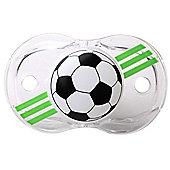 Raz-baby Keep It Kleen Pacifier Dummy Soccer Design