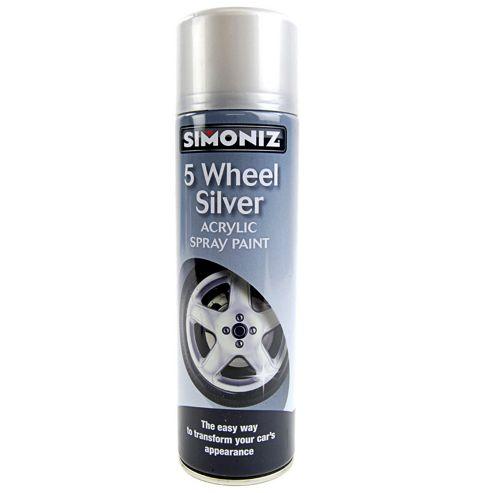 5 Wheel Silver 500Ml