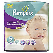 Pampers Active Fit Size 5 Essential Pack - 35 nappies