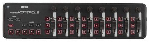 Korg NanoKontrol 2 (Black) Slim-Line USB Control Surface
