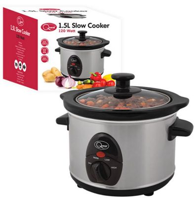Image of 1.5L Stainless Steel Slow Cooker