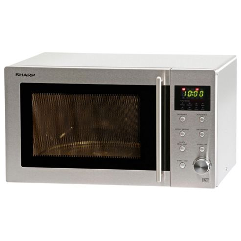 Sharp Solo Microwave R28STM 23L, Stainless Steel