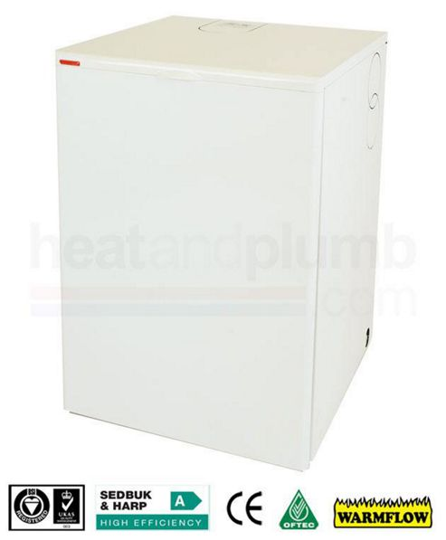 Warmflow U-SERIES Kitchen / Utility Condensing Combi Oil Boiler 15-21kW