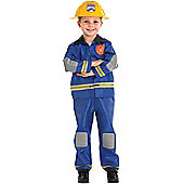 Child Fireman Costume Large