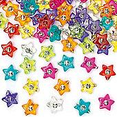 Star Diamante Beads (Pack of 300)