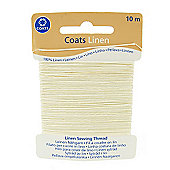 Coats Linen Thread - White