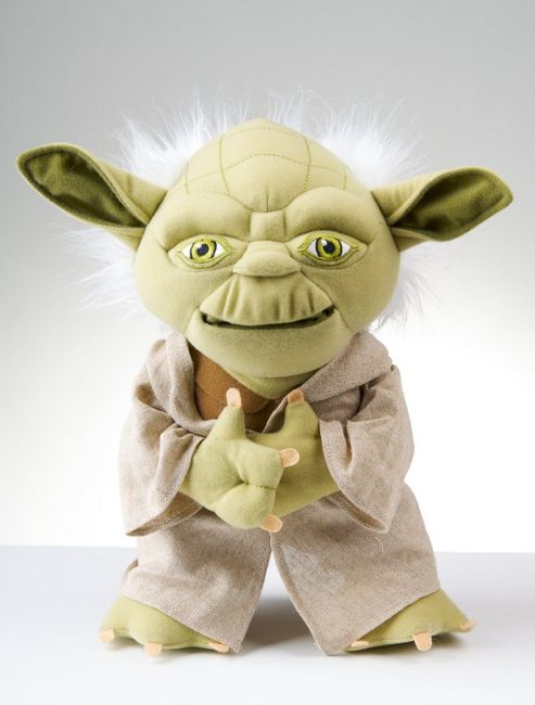 Star Wars 12inch Lip Synch Talking Yoda Soft Toy