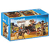 Playmobil 5248 Western Covered Wagon with Raiders
