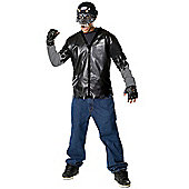 Child Dead City Road Hazard Costume Medium