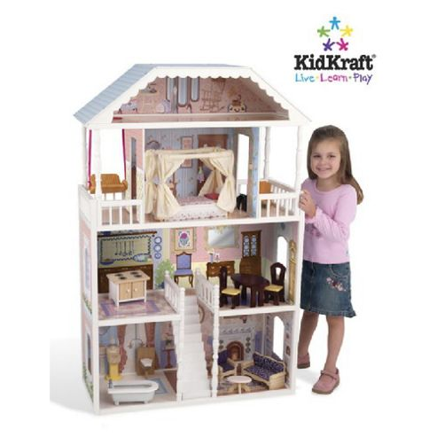 KidKraft 14 Piece Savannah Dollhouse